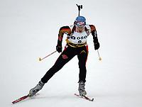 Biathlon, 09. december 2004, World Cup, Oslo,   Martina Glagow, Germany