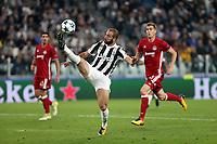 27.09.2017 - Torino - Champions League   -  Juventus-Olympiakos nella  foto: Gonzalo Higuain