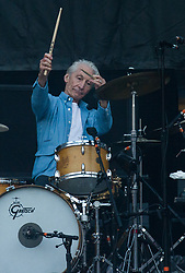 Charlie Watts 0f The Rolling Stones performs on stage at Ricoh Arena on June 02, 2018 in Coventry, England. Picture date: Saturday 02 June, 2018. Photo credit: Katja Ogrin/ EMPICS Entertainment.