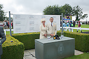 THE COUNTESS OF MARCH; ROWAN ATKINSON, Ladies Day, Glorious Goodwood. Goodwood. August 2, 2012