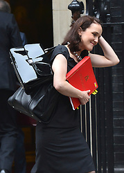 © Licensed to London News Pictures. 23/10/2012. Westminster, UK Northern Ireland Secretary Theresa Villiers. Ministers attend a Cabinet Meeting in 10 Downing Street today 23 October 2012. Photo credit : Stephen Simpson/LNP