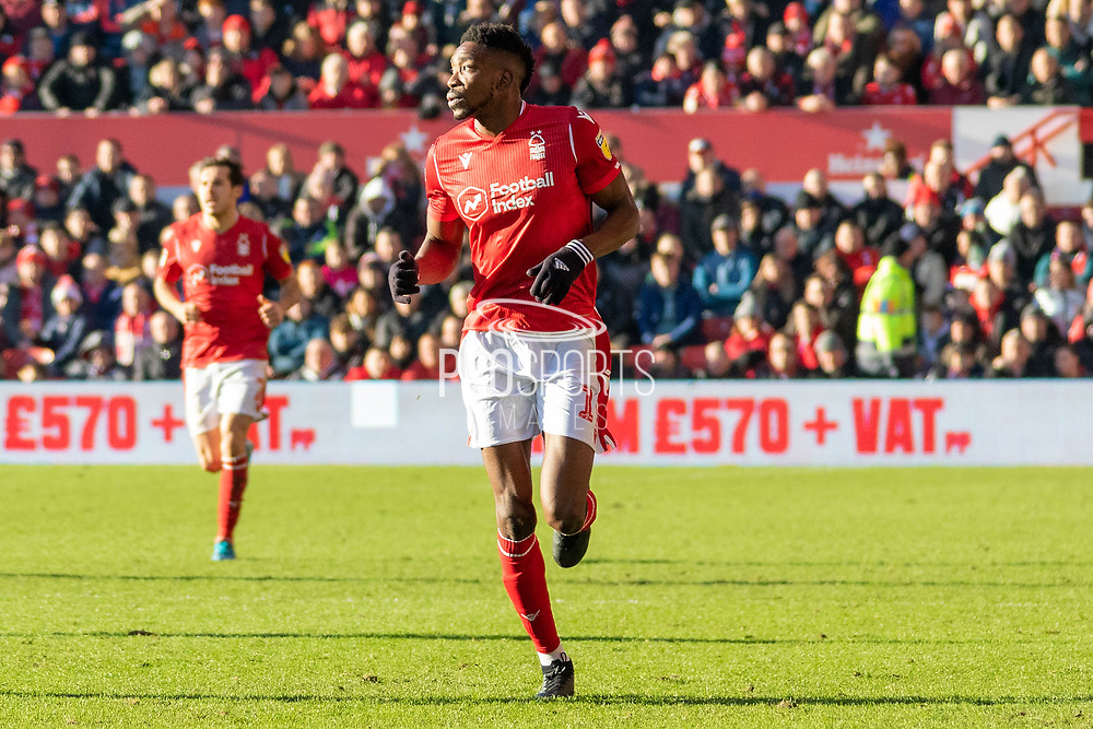 Sammy Ameobi during the EFL Sky Bet Championship match between Nottingham Forest and Luton Town at the City Ground, Nottingham, England on 19 January 2020.