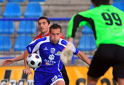 Stjepan Caban (23) of Nafta at 12th Round of PrvaLiga Telekom Slovenije between NK Primorje vs NK Nafta Lendava, on October 5, 2008, in Town stadium in Ajdovscina. Nafta won the match 2:1. (Photo by Vid Ponikvar / Sportal Images)