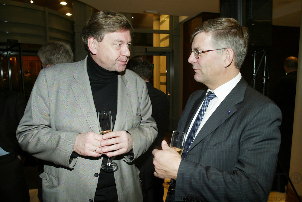 BRUSSELS - BELGIUM - 12 JANUARY 2006 --  Opening of Radisson SAS EU-Hotel.   PHOTO: ERIK LUNTANG /
