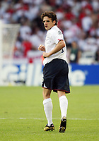 Photo: Chris Ratcliffe.<br /> England v Ecuador. 2nd Round, FIFA World Cup 2006. 25/06/2006.<br /> Owen Hargreaves of England.