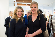 PHILLY ADAMS, FLORA FAIRBAIRN, London Original Print Fair Preview, Royal Academy,  London. 24 April 2019