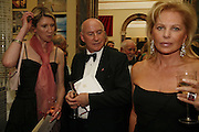 Camilla Morris, Jack Pringle and Eva-Maria O'Neill.  Royal Academy Annual dinner. Royal Academy, Piccadilly. 6 June 2006. ONE TIME USE ONLY - DO NOT ARCHIVE  © Copyright Photograph by Dafydd Jones 66 Stockwell Park Rd. London SW9 0DA Tel 020 7733 0108 www.dafjones.com