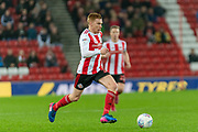 Duncan Watmore of Sunderland FC on the attack during the EFL Sky Bet League 1 match between Sunderland and Burton Albion at the Stadium Of Light, Sunderland, England on 26 November 2019.