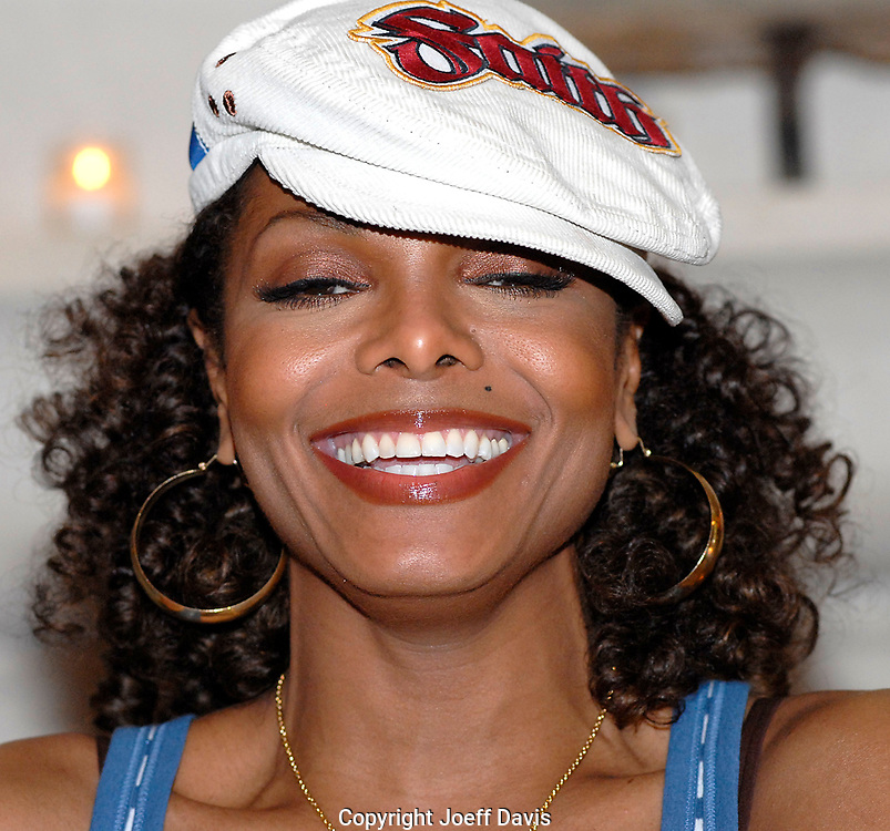 ATLANTA, GA - JULY 21, 2006:  Janet Jackson visited Atlanta to promote her soon-to-be-released CD, 20 Years Old. To that end, she hosted press conference at the Four Seasons hotel in Midtown, Atlanta, Georgia.