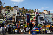 The Saturday market in Inebolu.
