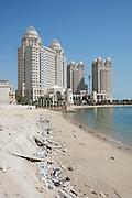 Modern skyscrapers at the Western Corniche.