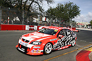 Todd Kelly of the Holden Racing Team on the way to winning Race 1 of the Clipsal 500 on the streets of Adelaide, South Australia ~ Round 1 of the 2007 V8 Supercar Series on Saturday 3rd March 2007. Photo: Clay Cross/PHOTOSPORT