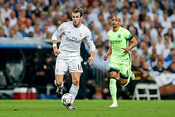 Gareth Bale of Real Madrid in action - Mandatory byline: Rogan Thomson/JMP - 04/05/2016 - FOOTBALL - Santiago Bernabeu Stadium - Madrid, Spain - Real Madrid v Manchester City - UEFA Champions League Semi Finals: Second Leg.