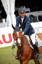 Houtzager Marc (NED) - Voltaire<br /> Nederlands Kampioenschap Springen CH Mierlo 2010<br /> © Hippo Foto - Leanjo de Koster