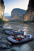 Rafting, Boquillas Canyon, Rio Grande River, Rio Grande, Big Bend, Big Bend National Park, Texas