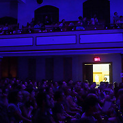 The audience during Mount Eerie at Ukrainian Federation at POP Montreal 2017.