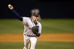 Virginia Cavaliers RHP Kevin Arico (11).  The #15 ranked Virginia Cavaliers baseball team fell to the Towson Tigers 7-6 at the University of Virginia's Davenport Field in Charlottesville, VA on April 2, 2008.