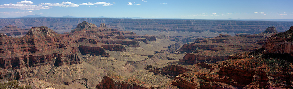 A view of the Grand Canyon from the North Rim, Bright Angel Point