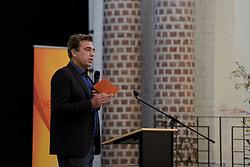 17-05-2014 NED: Nationaal Volleybalcongres, Amersfoort<br /> Met het thema Goud in handen zal het congres het platform voor kansdeling en uitwisseling zijn voor bestuurders / Jeroen Bijl
