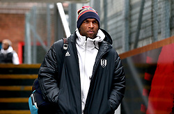 Fulham's Ryan Babel arrives at the stadium prior to the Premier League match at Selhurst Park, London.
