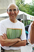 NYC Department of Education Chancellor Joel Klein at the Department of Education's Back to School Kickoff event in Central Park on August 22.