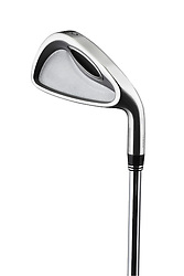 (3) three iron golf club