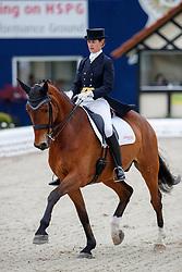 VAN ESCH Petra (GER), Fiji<br /> Hagen - Horses and Dreams meets the Royal Kingdom of Jordan 2018<br /> Prix St Georges<br /> 25 April 2018<br /> www.sportfotos-lafrentz.de/Stefan Lafrentz