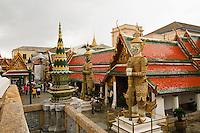 Wat Phra Kaew temple Grand Palace, Bangkok, Thailand
