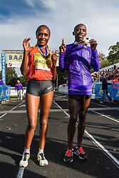winners Mary Wacera, Daniel Salel