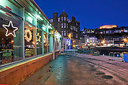 McCaigs tower and George Street as seen from the north pier, Oban, Argyll