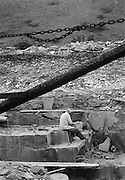 Stenarbetare i Kettelvik på Gotland