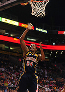 Aug 8, 2010; Phoenix, AZ, USA; Indiana Fever forward Tamika Catching puts up a basket during the first half in at US Airways Center.  The Fever defeated the Mercury 104-82.  Mandatory Credit: Jennifer Stewart-US PRESSWIRE