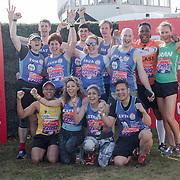 Baker Dozen at London Marathon 2018 on 22 April 2018, Blackhealth, London, UK.