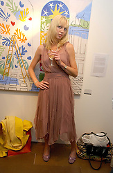 Model MARY MUNRO at a private view of artist Damian Elwes work 'Artists Studios' held at Scream, 34 Bruton Street, London W1 on 29th June 2006.<br /><br />NON EXCLUSIVE - WORLD RIGHTS