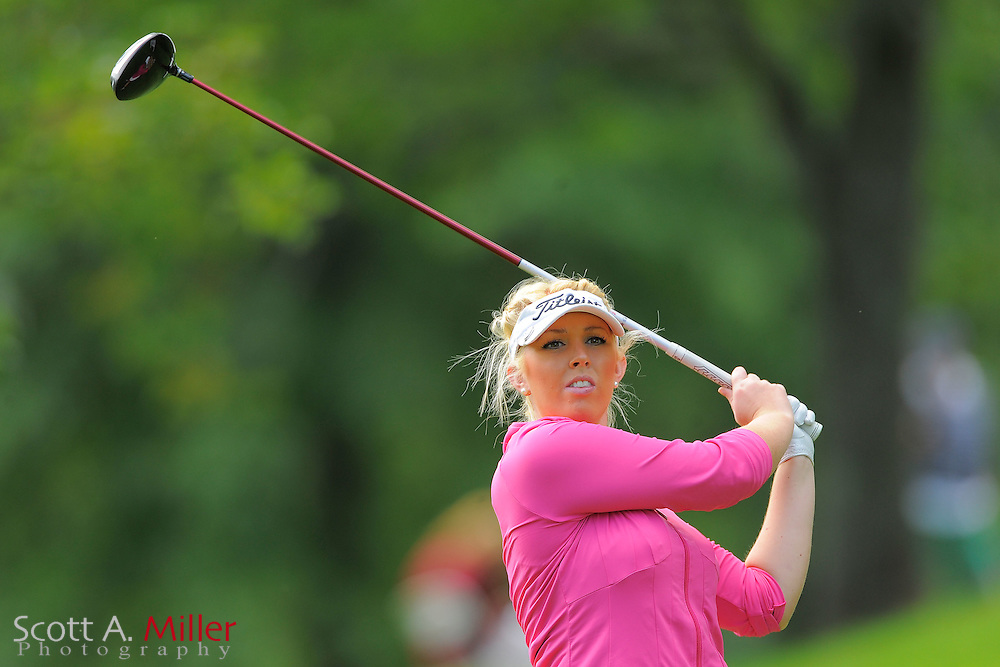Rachel Connor during the final round of the LPGA Future Tour's Price Cooper Tour Championship at Capital Hills at Albany on Sept. 11, 2011 in Albany, N.Y...©2011 Scott A. Miller