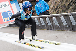 February 8, 2019 - Ljubno, Savinjska, Slovenia - Carina Vogt of Germany on first competition day of the FIS Ski Jumping World Cup Ladies Ljubno on February 8, 2019 in Ljubno, Slovenia. (Credit Image: © Rok Rakun/Pacific Press via ZUMA Wire)