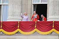 Queen's Birthday Parade, Trooping The Colour, UK, 12 June 2010:  For piQtured Sales contact: Ian@Piqtured.com +44(0)791 626 2580 (Picture by Richard Goldschmidt/Piqtured)