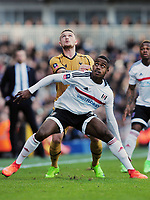 Football - 2016 / 2017 FA Cup - Fifth Round: Fulham vs. Tottenham Hotspur<br /> <br /> Kieran Trippier of Tottenham and Ryan Sessegnon of Fulham at Craven Cottage.<br /> <br /> COLORSPORT/ANDREW COWIE