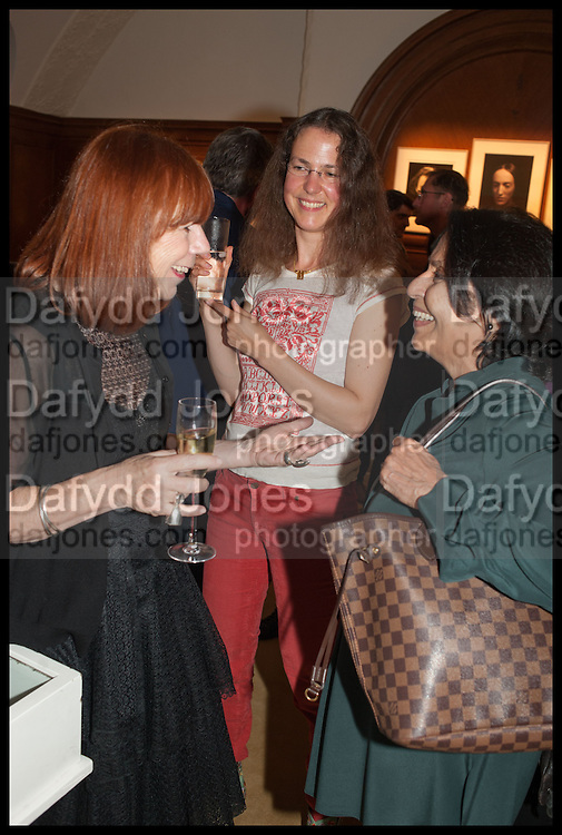 JULES WRIGHT;  JUUL KRAIJER; ASHA MIRCHANDANI, The wapping project Mayfair opening in Dover St. London. 17 September 2014.