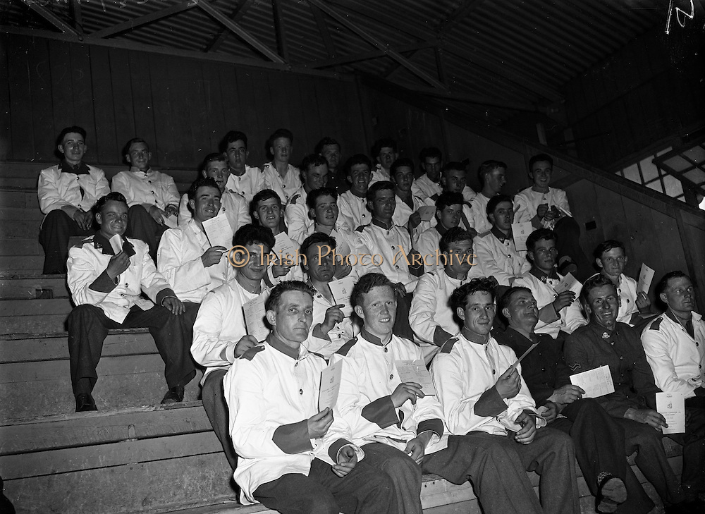 Presentation of Prizes at The Curragh camp to Army by the Minister of defence..05/07/1958