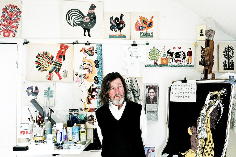Jan Pienkowski, Artist, Illustrator Jan Pienkowski– Children's Books Illustrator