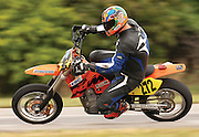 Unknown supermoto racer on KTM 450SM at Hallett Raceway