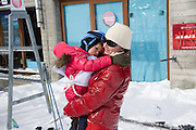 ISABELLA BUNFORD; ISABELLA, Children and Adult ski race in aid of the Knights of Malta,  Furtschellas. St. Moritz, Switzerland. 23 January 2009 *** Local Caption *** -DO NOT ARCHIVE-© Copyright Photograph by Dafydd Jones. 248 Clapham Rd. London SW9 0PZ. Tel 0207 820 0771. www.dafjones.com.<br /> ISABELLA BUNFORD; ISABELLA, Children and Adult ski race in aid of the Knights of Malta,  Furtschellas. St. Moritz, Switzerland. 23 January 2009