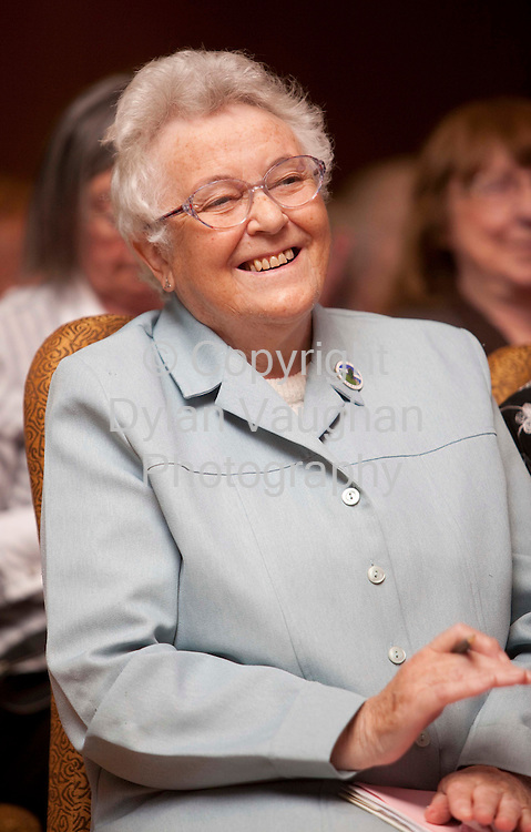 27/5/2009 .Patricia Bonner from Bray county Wicklow pictured at the ICA Conference at the Lyrath Estate Hotel in Kilkenny..Picture Dylan Vaughan