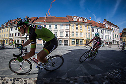 Luka Erzen of KK Sava Kranj during cycling race On the streets of Kranj 2016, on July 31, 2016 in Kranj centre, Slovenia. Photo by Vid Ponikvar / Sportida