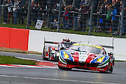 71 LMGTE Pro Af Corse / Ferrari 488 GTE / Davide Rigon / Sam Bird  during the FIA World Endurance Championships at Silverstone, Towcester, United Kingdom on 17 April 2016. Photo by Craig McAllister.