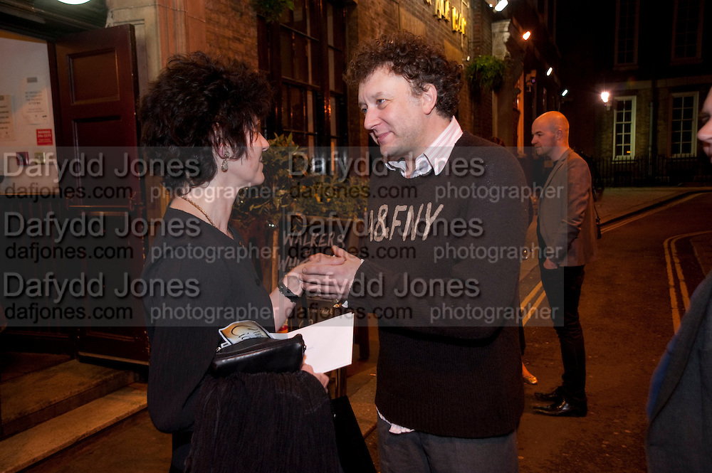 JASPER BRITTON, party after the press night of 'The Last Cigarette' at  the Trafalgar Studios. Party at Walkers, Craig's Court, Whitehall. London.  28 April 2009