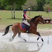 Michelle Mercier and Sir Malcolm at the Florida International in Ocala, Florida.