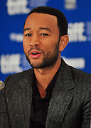 11.SEPT.2010. TORONTO<br /> <br /> JOHN LEGEND ATTENDS THE PRESS CONFRENCE OF NEW FILM WAITING FOR SUPERMAN AT THE 35TH TORONTO FILM FESTIVAL IN TORONTO.<br /> <br /> BYLINE: EDBIMAGEARCHIVE.COM<br /> <br /> *THIS IMAGE IS STRICTLY FOR UK NEWSPAPERS AND MAGAZINES ONLY*<br /> *FOR WORLD WIDE SALES AND WEB USE PLEASE CONTACT EDBIMAGEARCHIVE - 0208 954 5968*