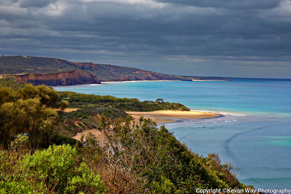 winter's day at Anglesea